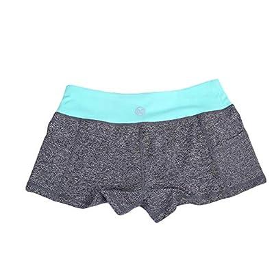 Hualieli Pantalones Cortos para Correr, Transpirables Y Deportivos, De Secado Rápido Pantalones Cortos para Ciclismo De Spinning