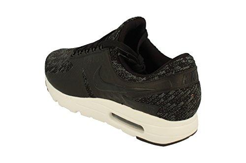 Nike Air Max Zero SE Mens Running Trainers 918232 Sneakers Shoes (UK 10.5 US 11.5 EU 45.5, Black Cool Grey Dark Grey 005)