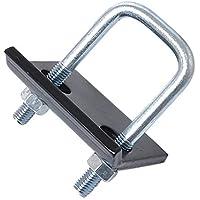 Matedepreso Hitch Tightener Heavy Duty Anti-Rattle Stabilizer U-Bolt Clamp Trailer Parts