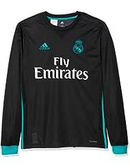 72be4765b00dd adidas A JSY Y LS Camiseta 2ª Equipación Real Madrid 2017-2018-Champions  League