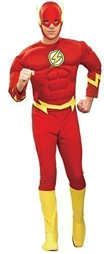 Luxus Herren The Flash Muskel Brust Super Hero -