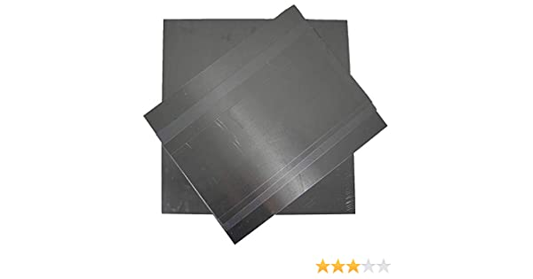 2mm Aluminium Sheet 1050 H14 Grade Various Sizes With Protective Coat 100 x 100mm