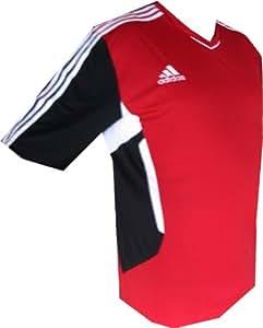 """Adidas climaCool sport, fitness, freizeitshirt rouge-taille xXL/62/12 """"tIRO11 tRG jSY"""