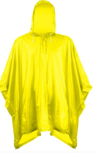 Splashmacs Plastic poncho Gelb - Gelb
