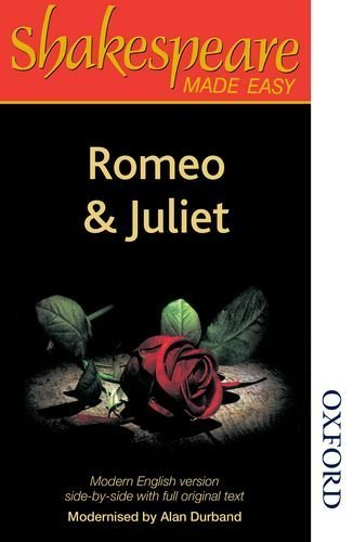 Romeo and Juliet (Shakespeare Made Easy; Parallel Edition) by Shakespeare, William (2014) Paperback