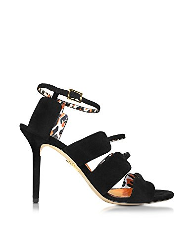 charlotte-olympia-womens-s164729001-black-suede-sandals