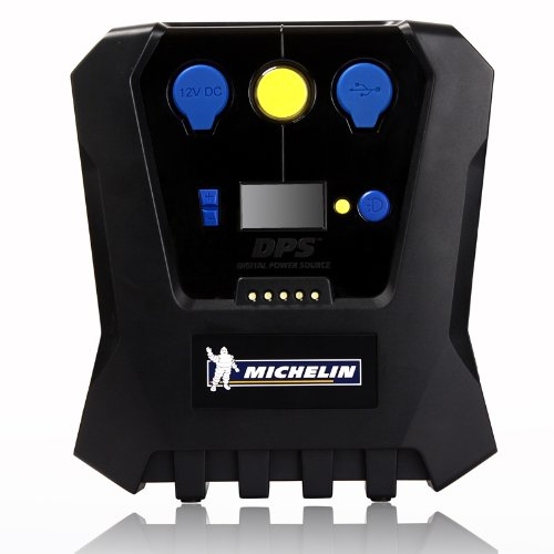 michelin 12266 high power rapid tyre inflator (black and blue) Michelin 12266 High Power Rapid Tyre Inflator (Black and Blue) 41UqiaveMPL