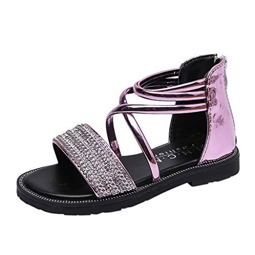 BURFLY Baby Strass Casual Schuhe zurück reißverschluss Party Prinzessin Schuhe Rutschfeste weiche Sandalen Tanzschuhe Casual Schuhe