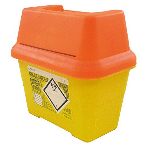 Frontier 41405410Deckel Kunststoff scharfe Nadel Bin, 2l, orange