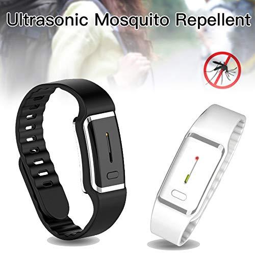 Imagen de scelet pulseras repelentes de mosquitos  pulseras repelentes electrónicas anti insectos midge para adultos y niños alternativa