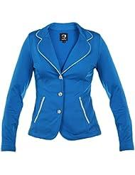 Horka damas ligero Softshell Stretch Strass hípica competencia chaqueta