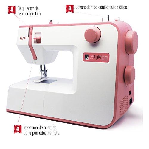 Más Barato Alfa STYLE 20 - Máquina de coser 71a54ba6b12d