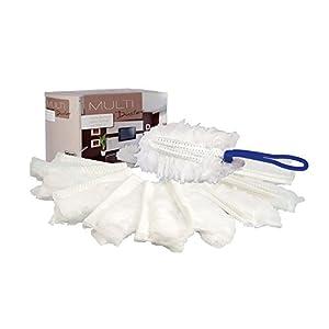 bellanet Mikrofaser Staubwedel | elektrostatisch & ultrahygienisch | zieht Staub, Schmutz und Haare magisch an