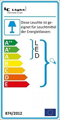 3er IP44 LED Einbaustrahler Set Silber gebürstet mit LED GU10 Markenstrahler von LEDANDO – 7W – warmweiss – 30° Abstrahlwinkel – Feuchtraum / Badezimmer – 50W Ersatz – A+ – LED Spot 7 Watt – Einbauleuchte eckig - 5