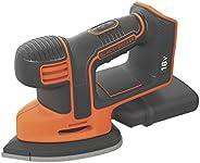 Black+Decker Cordless Mouse Detail Sander, 18V, Battery not included - BDCDS18N-XJ, 2 Years Warranty
