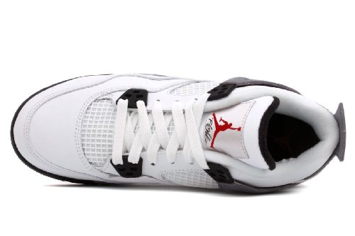 Nike Jordan 4 Retro Gs Blanc