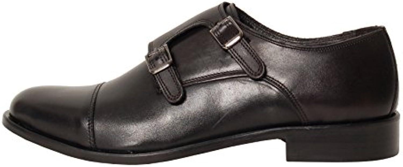 Antica Calzoleria Campana Schuhe   Mod. 1309   Monkstrap   Kalbsleder   braun  dunkelbraun oder schwarz
