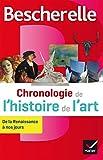 Bescherelle Chronologie de l'histoire de l'art: de la Renaissance à nos jours...