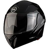 BHR 50134 Casco Modular, Color Negro Metálico, Talla M, 57-58 cm
