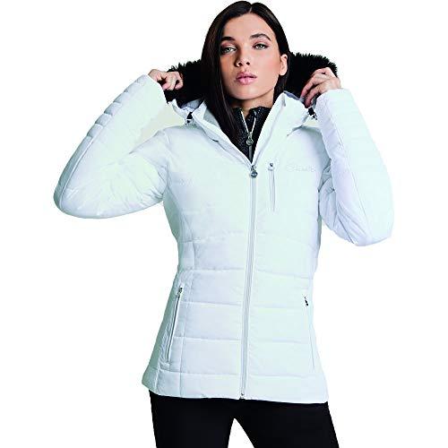 Dare 2b Damen Curator Jacke, weiß, FR : 2XL (Taille Fabricant : 18) Coated Twill Jacket