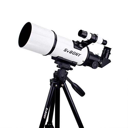 Svbony SV20 Telescopio Refractor Astronómico 400/80mm