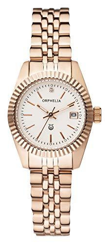 Orphelia Damen-Armbanduhr Eternity Analog Quarz Edelstahl