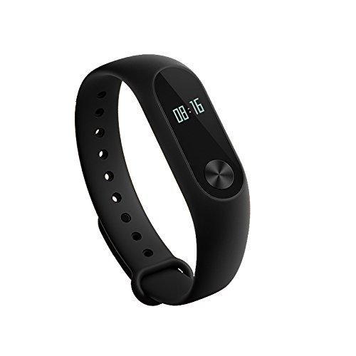 KLXEB Bluetooth Wasserdicht Schrittzähler Schlaffrequenz Herzfrequenz Intelligenter Erinnerung Social Entertainment Bluetooth Handy Schrittzähler Wasserdicht Armband Monitor