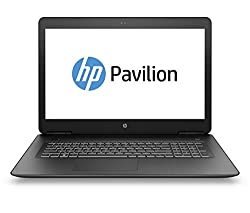 HP Pavilion 17-ab401ng 43,94 cm (17,3 Zoll Full HD IPS) Gaming Notebook (Intel Core i5-8300H, 8GB RAM, 128GB SSD, 1TB HDD, Nvidia GeForce GTX 1050Ti 4GB, Windows 10 Home 64) schwarz