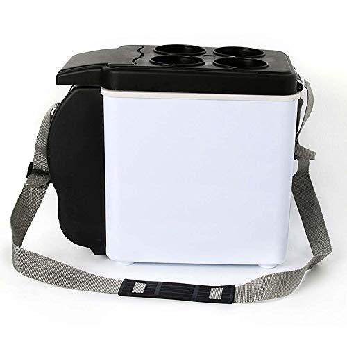 27 Mini-anhänger (JUZZQ Tragbarer KüHlschrank,6 Liter Elektroauto-Kühler und -wärmer, tragbarer Stiller Mini-Kühlschrankkühler / -wärmer für Auto, LKW, SUV, RV, Anhänger mit Gleichstrom)