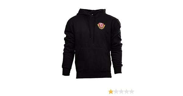 Details about SG Dynamo Dresden Kapuzensweater schwarz gelb Pullover Hoodie Kapuze Sweatshirt