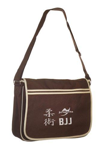 Retro Messenger Bag chocolate/sand BJJ