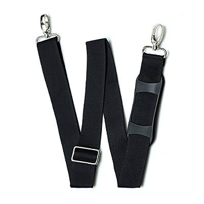 Hibate Replacement Adjustable Luggage Belts Bag Shoulder Straps