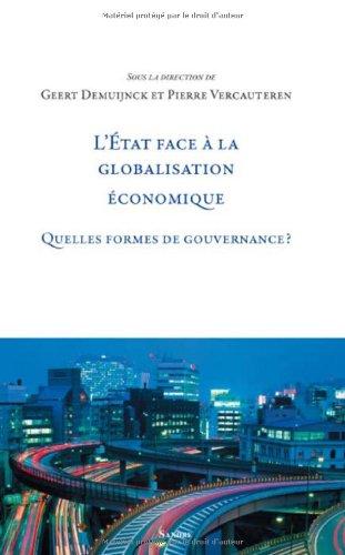 L'Etat face à la globalisation économique