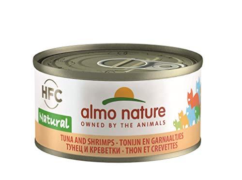 Almo Nature Jelly Chat Adulte - Sachets FraÃcheur 24 x 70g - Thon & Crevettes