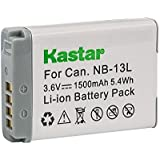 Kastar Battery For Canon NB-13L, NB13L And Canon PowerShot G5 X, Canon PowerShot G7 X, Canon PowerShot G9 X, Canon SX620 HS, Canon SX720 HS Digital Camera