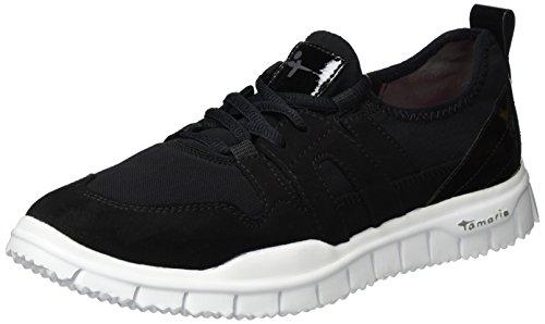 Tamaris Damen 23651 Sneaker, Schwarz (Black 001), 38 EU