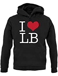 Dressdown I Heart LB - Womens T-Shirt - 4 Colours