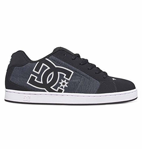 DC- Young Mens Net Se Lowtop Shoes, UK: 9 UK, Black Dark Used