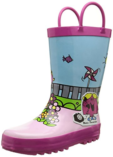 Be OnlyMme Bavarde - Stivali da pioggia a metà polpaccio Bambina , Multicolore (Multicolore (Multico)), 29