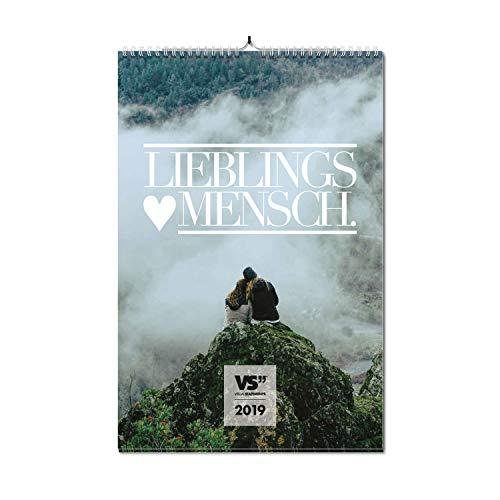 6126e140fed VISUAL STATEMENTS Wandkalender 2019; Kalender DIN A3; Bilder mit Sprüchen –  verschiedene Bildmotive -