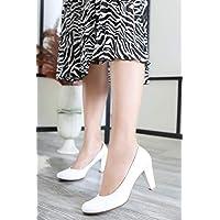 TARÇIN Günlük Kadın Klasik Topuklu Ayakkabı TRC106-0001
