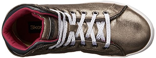 Skechers  Shoutouts Zipsters, Sneakers basses filles Argent - Silber (Gun)