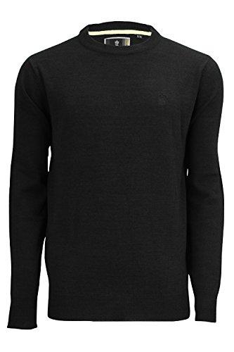 SoulStar Herren Sweatshirt Crew 2 -Black