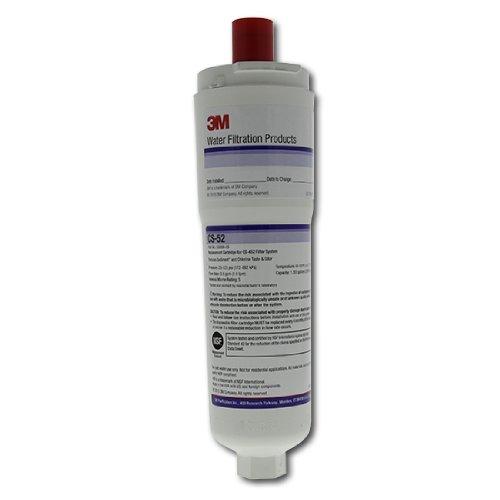 Cuno 3M - 640565 - Filtre à Eau pour Réfrigérateur Américain Bosch / Siemens (CS-52)