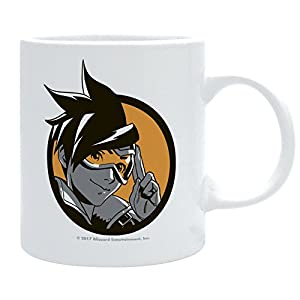 ABYstyle - Dc Comics Overwatch Taza Tracer Unisex-Adult, abymug386