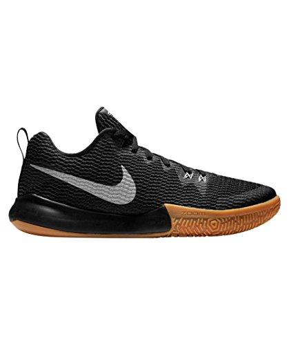 Nike Zoom Live Ii, Écharpe De Panier Uomo Nero (noir / Refléter Argent-anthracite 001)