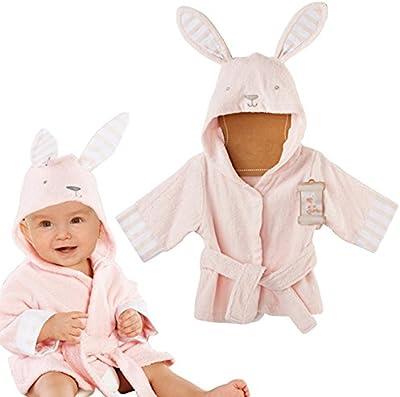 Bebé Albornoz Algodón Pijamas Con Capucha De Baño para niños y niñas Vine