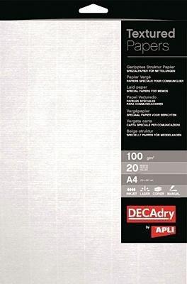 Strukturpapier /12129 weiß 100 g/qm Inh.20