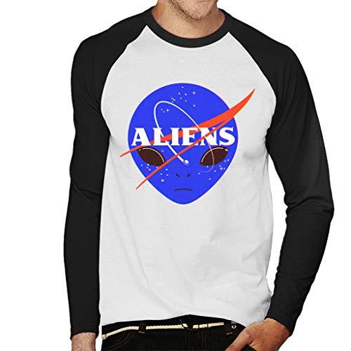 Camiseta de hombre. Alien Nasa de manga larga.