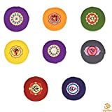 yogabox Meditationskissen Glückssitz Chakra